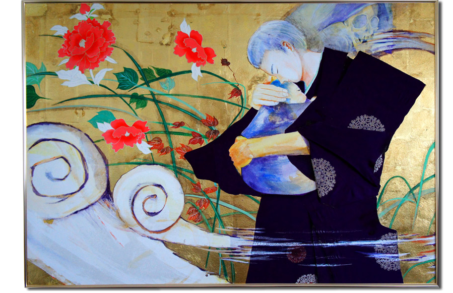 新井文月の現代アート絵画artwork